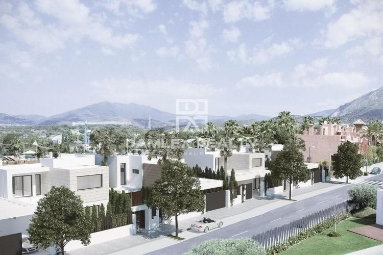 Project of 7 villas in Marbella.