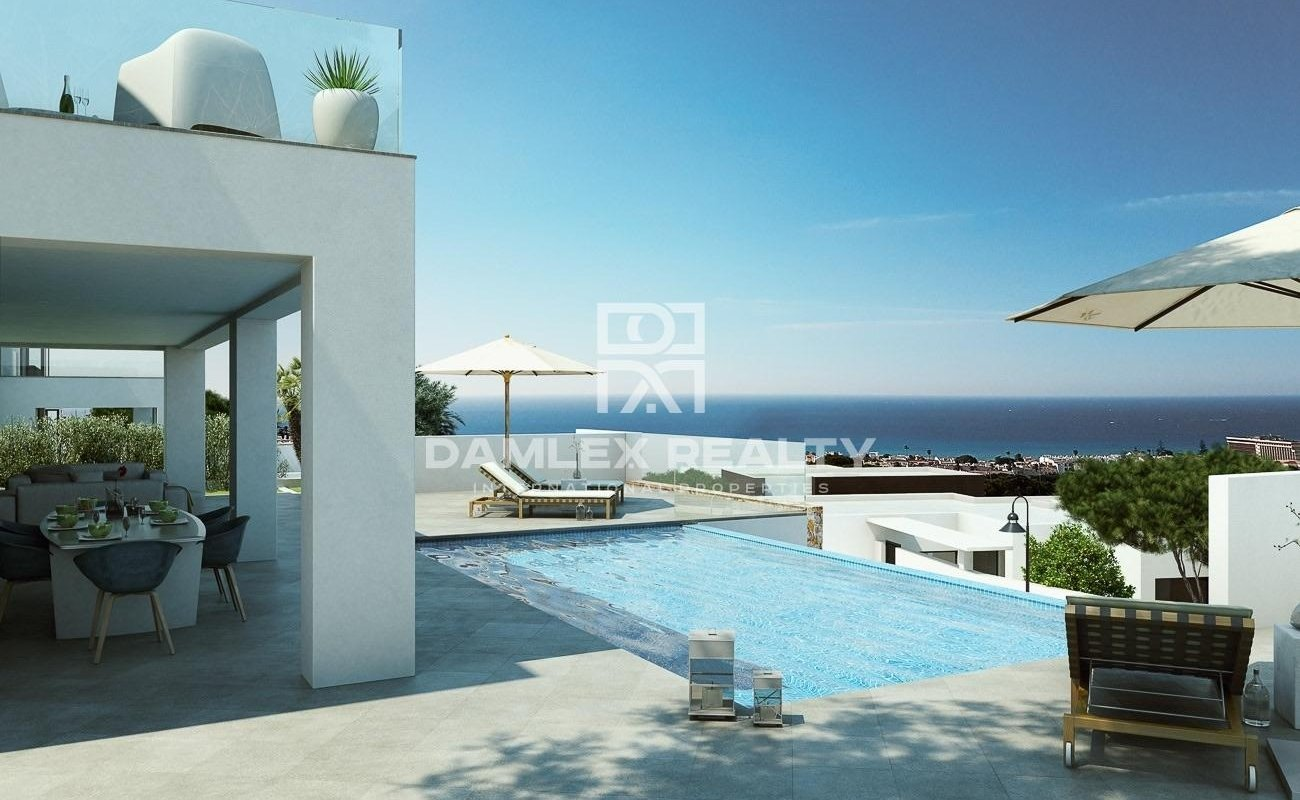 Project of 21 villas with a sea view