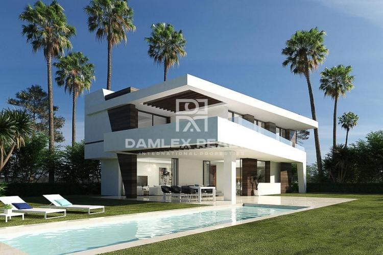 Sale of a modern villa under construction in San Pedro