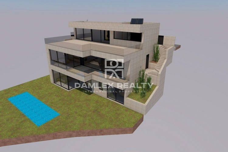 Project of a villa in Lloret de Mar.