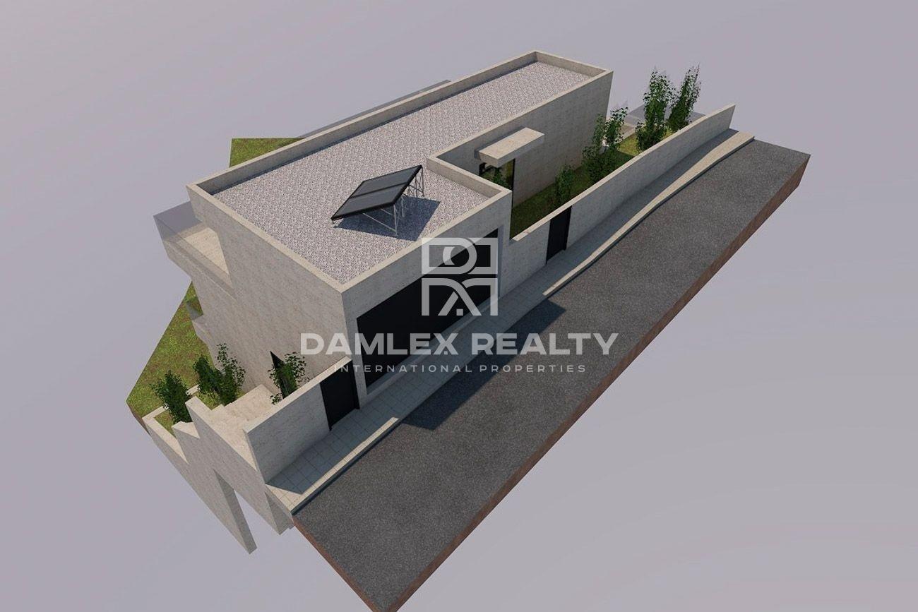 Project of a villa in Lloret de Mar.