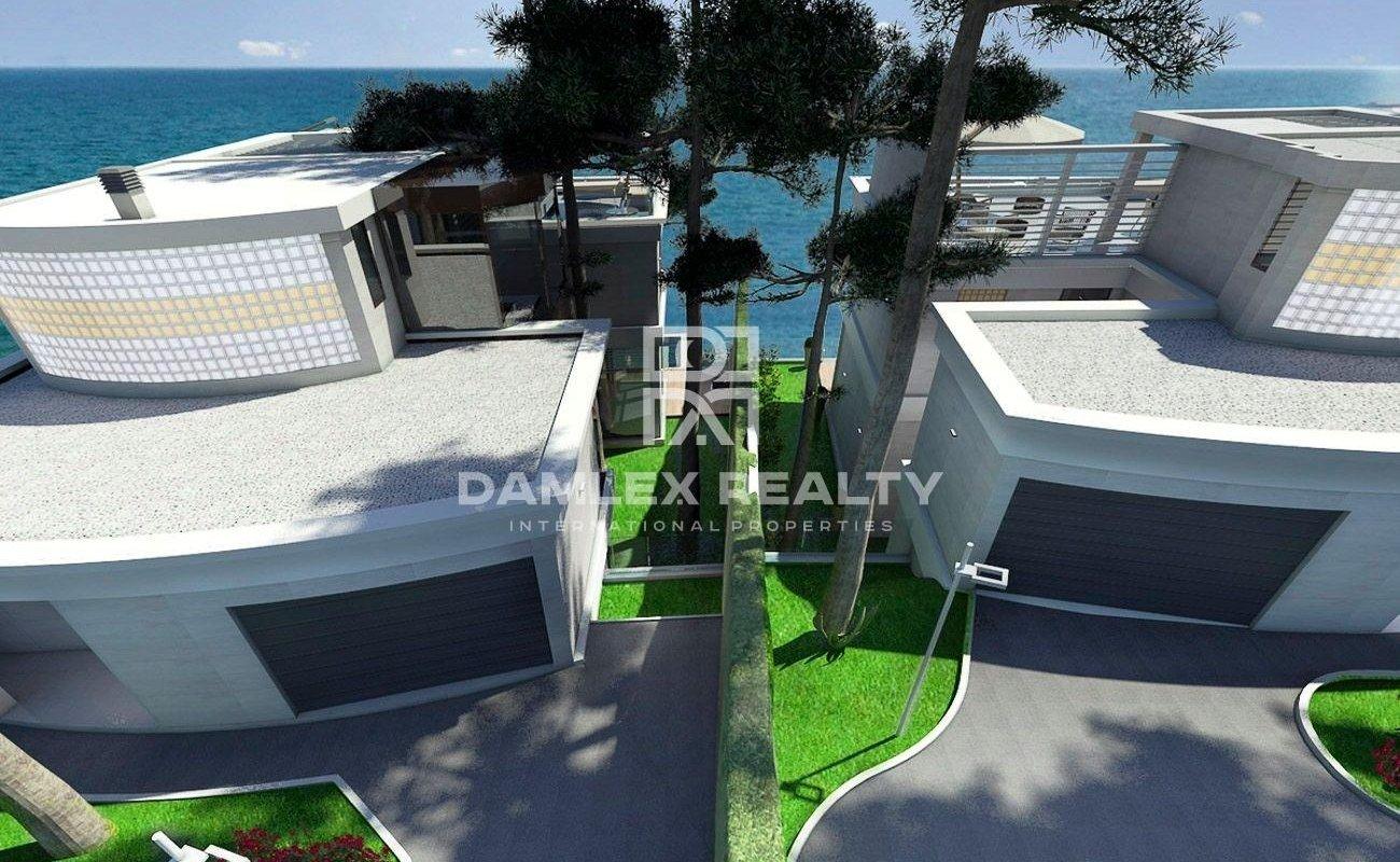 Modern villa with a stunning sea views