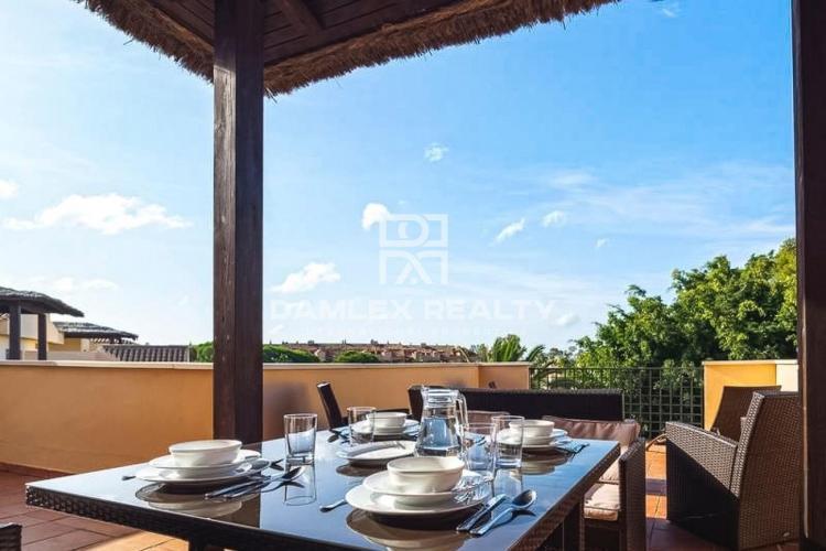 Mediterranean style apartment in Marbella at Punto Banus