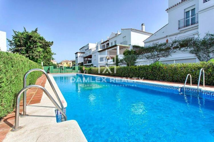 Apartments 150 meters from the beach
