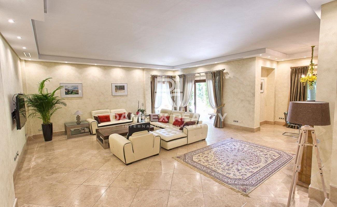 Villa on the Golden Mile in Marbella