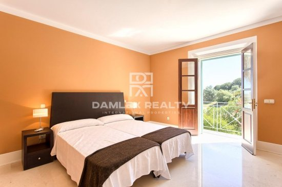 Villa with a beautiful view of the golf course