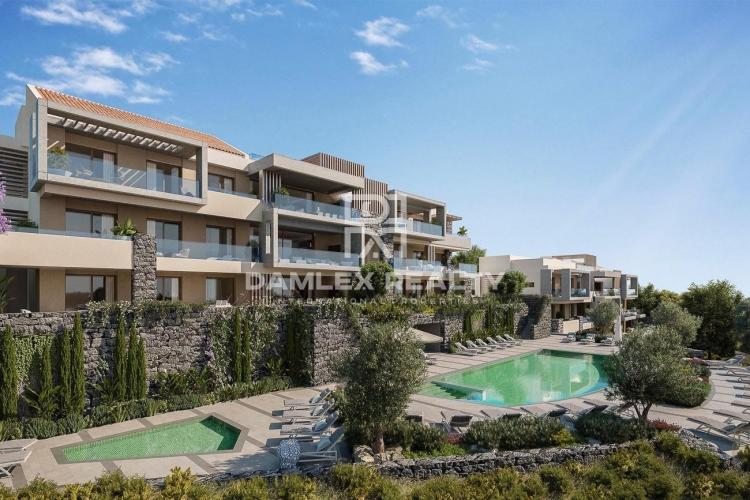 Penthouse, 305 m2. A unique apartment complex in Marbella with panoramic sea views