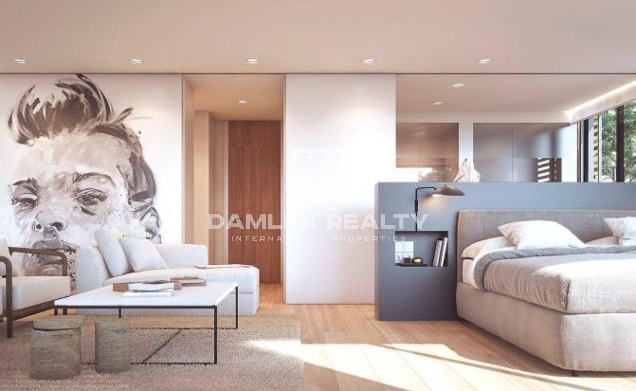 Modern design villa in a prestigious area of Barcelona