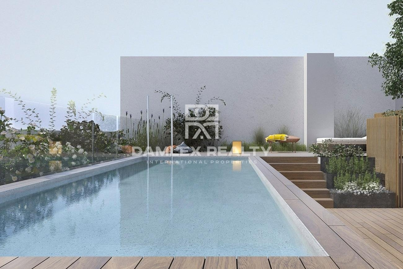 New residential building in Les Corts in Barcelona