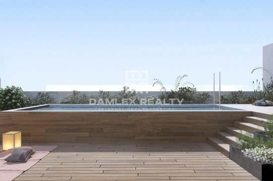 New residential building in Les Corts, Barcelona