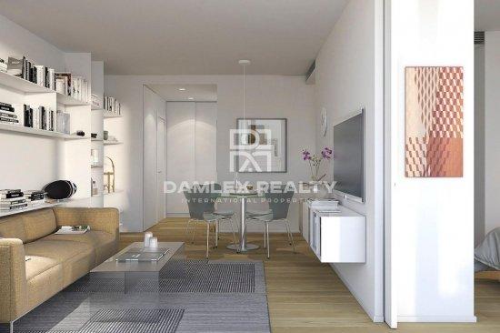 Bright apartment in Barcelona