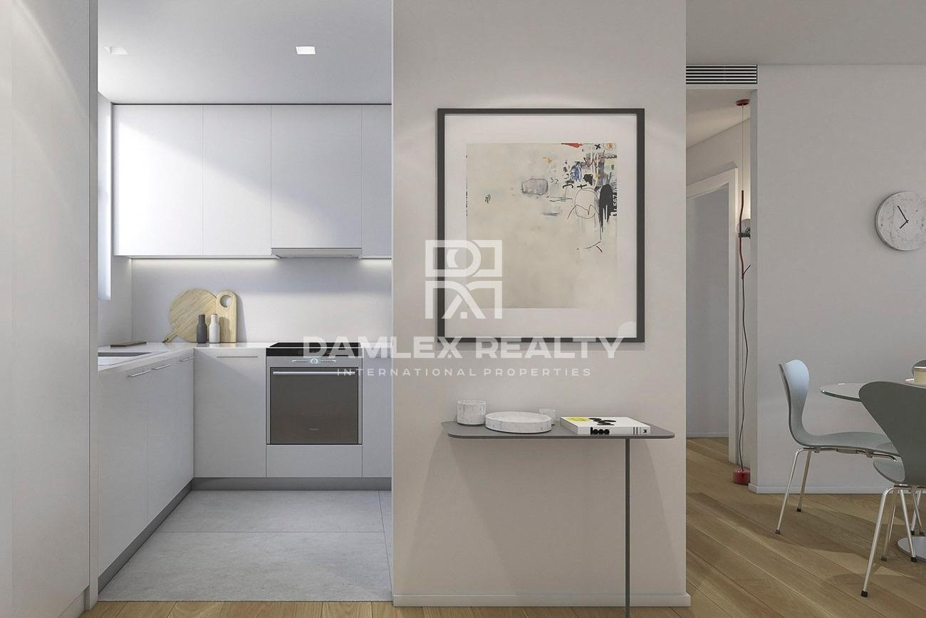 Duplex apartment in a new residential building in Barcelona