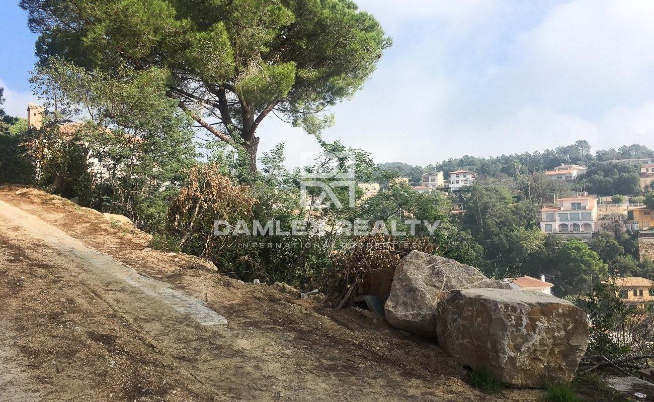 Land to build a villa on the Costa Brava