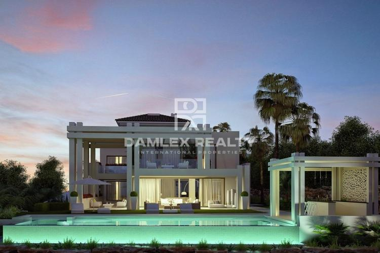 Modern luxury villa in Costa del Sol.