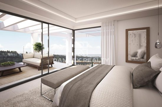 Modern luxury villa in Costa del Sol.