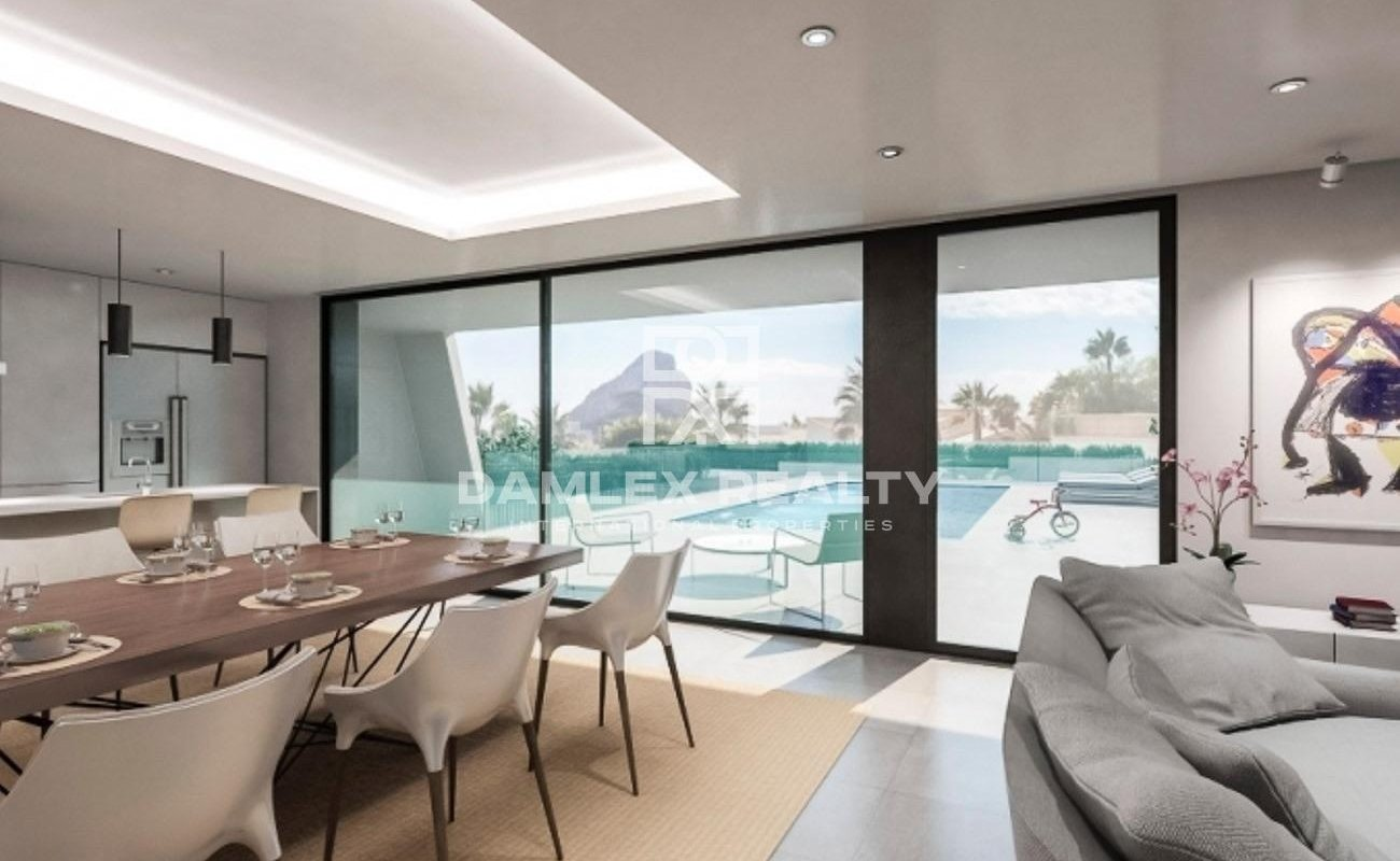 Villa with pool for sale in Calpe, Costa Blanca