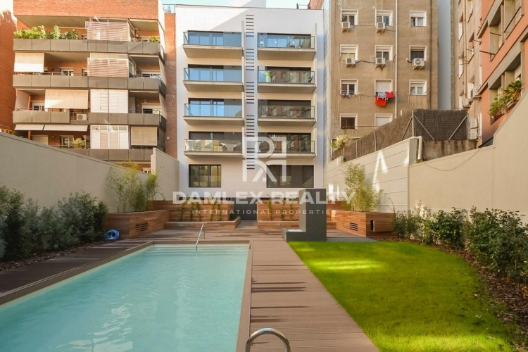 Last apartment in a new building in the area of Sant Gervasi in Barcelona