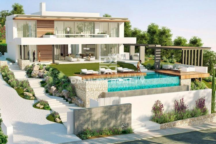 Modern luxury villa in the city of Marbellaa