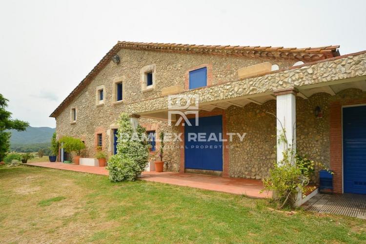 Authentic catalan farmhouse