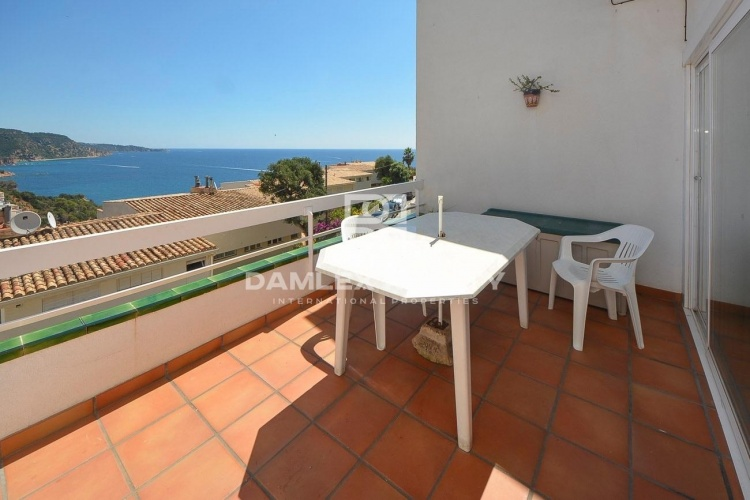 Duplex with incredible sea views in Tossa de Mar