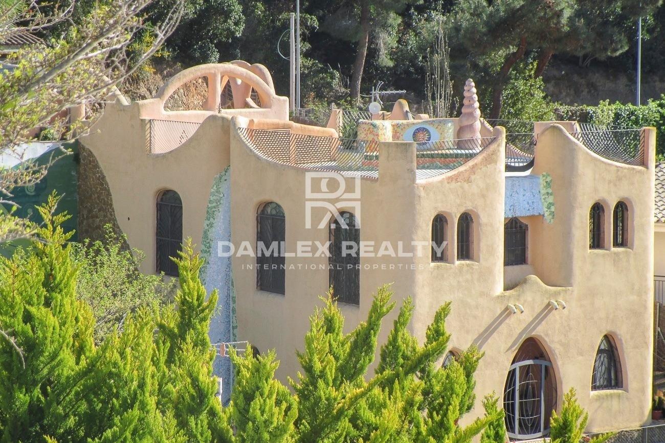 Gaudi style villa in Lloret de Mar
