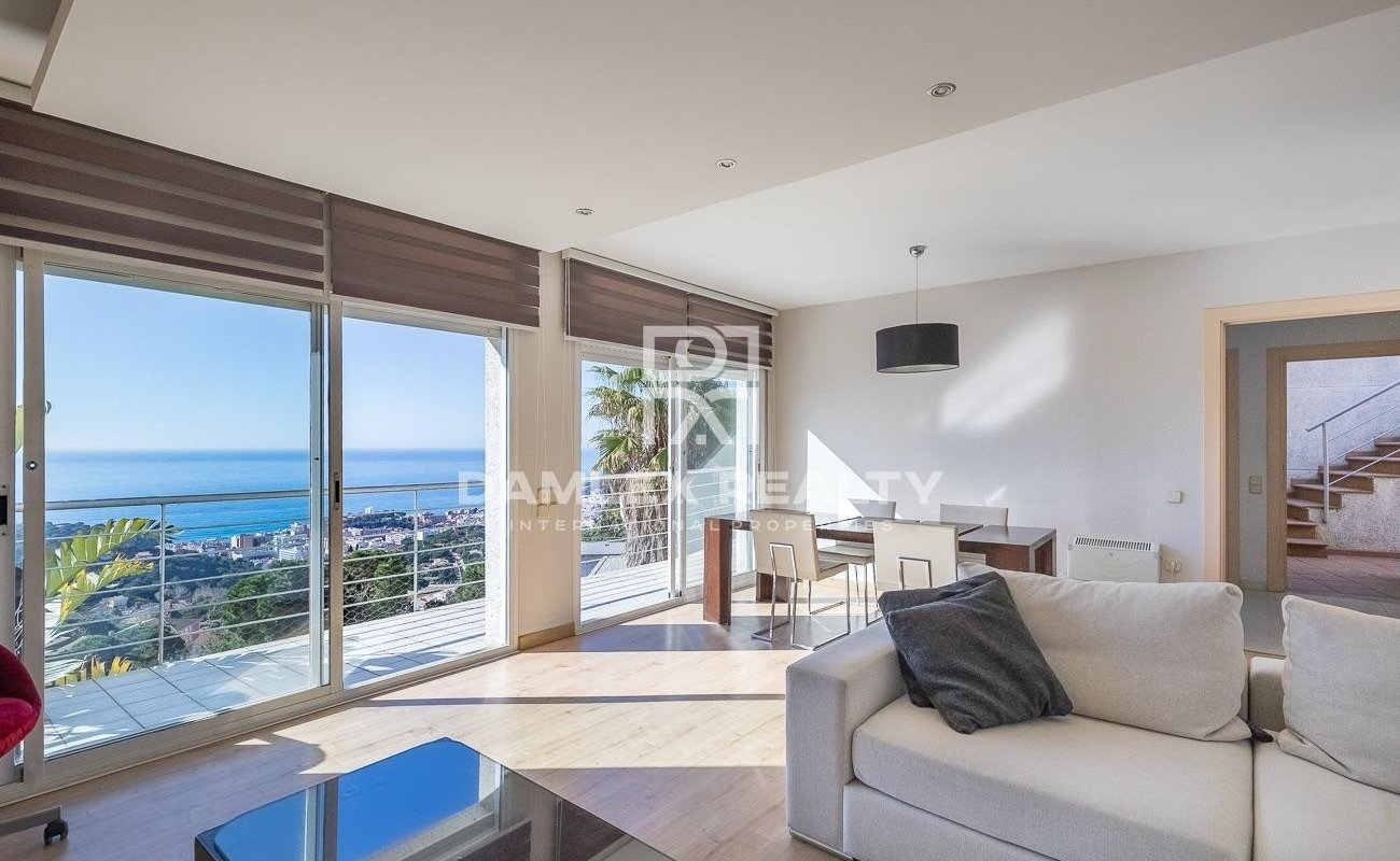 Villa with panoramic sea views. Lloret de Mar
