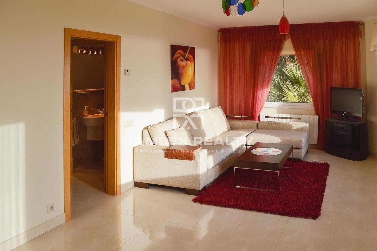 Villa with panoramic views in Lloret de Mar.