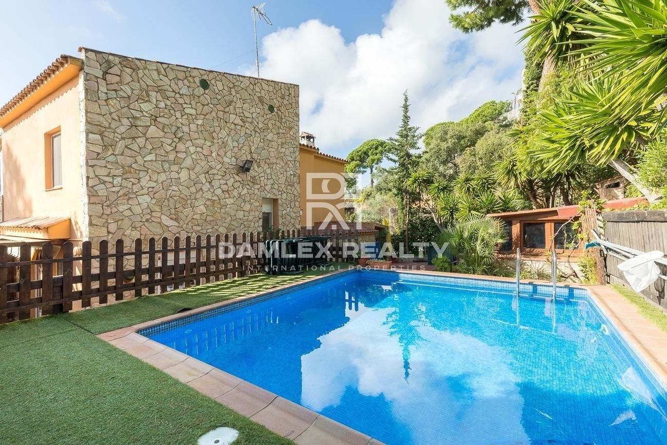 Villa in Lloret de Mar near the beach of Cala Canyelles