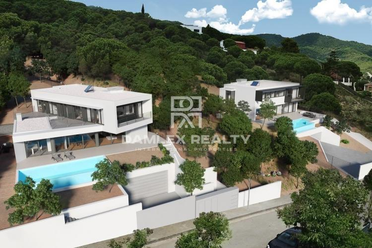 New construction houses of high quality