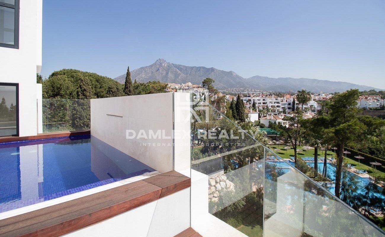 Beautiful new penthouse near Puente Romano, Marbella