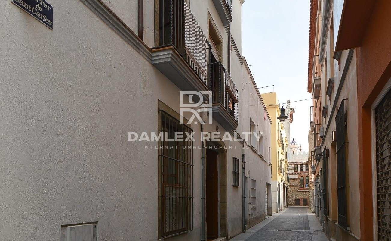 Character house in the center of Lloret de Mar