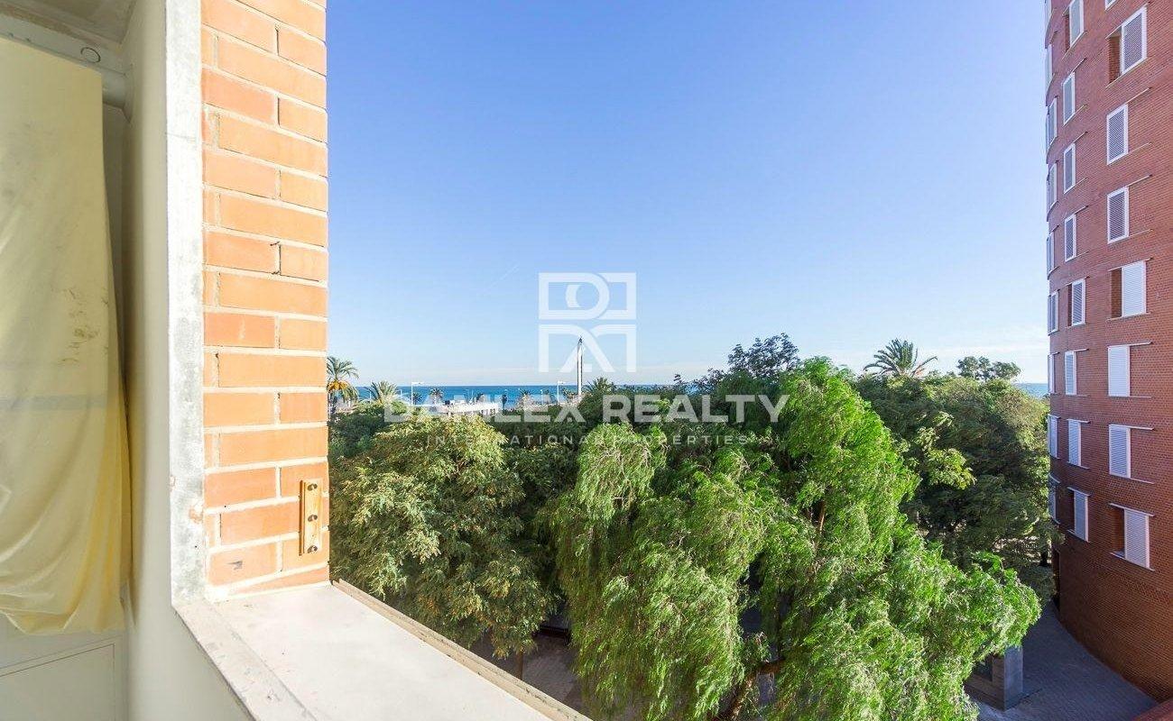 Apartment with sea views. Vila Olimpica