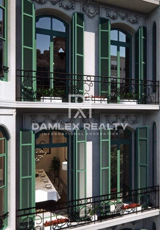 New exclusive apartments in the center of Barcelona, next to Paseo de Gracia