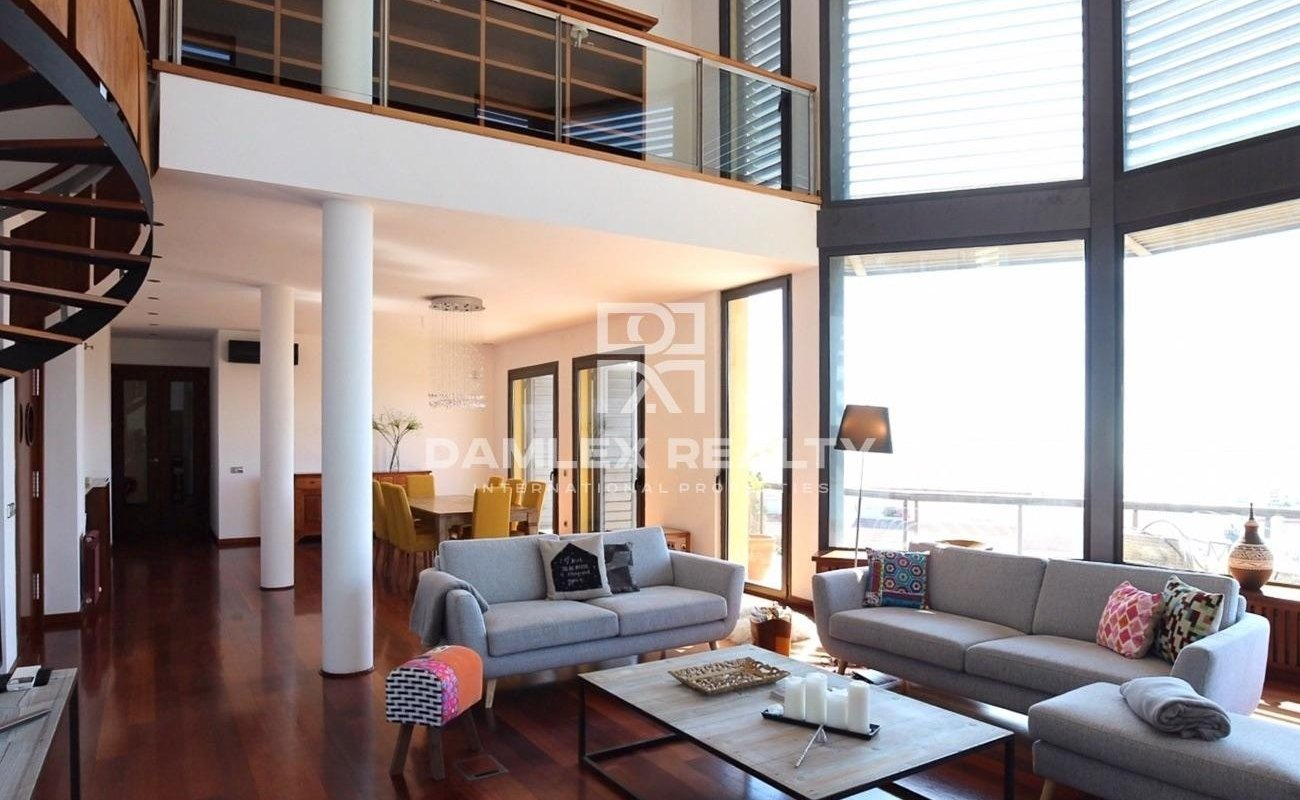 House with sea views. Sitges