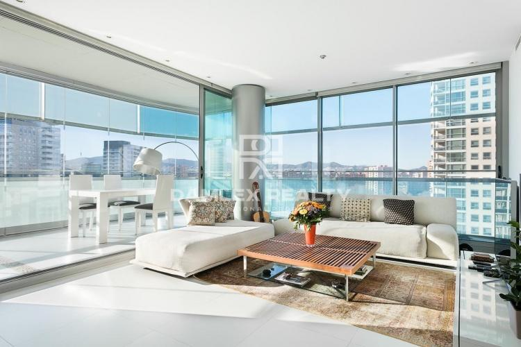 Apartment with sea views in  Diagonal Mar.