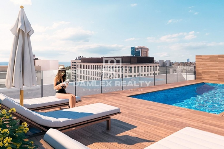 Two bedroom apartment in a new building with pool