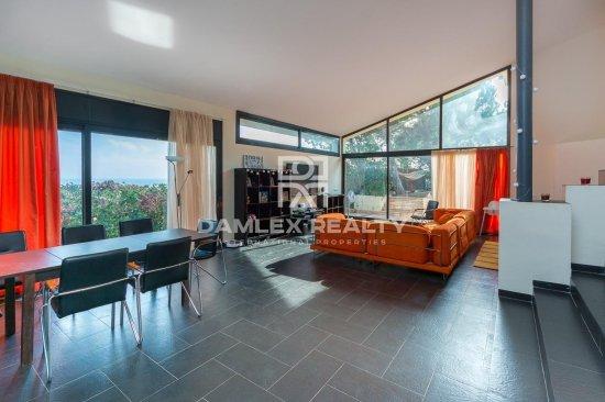 Modern villa with sea view