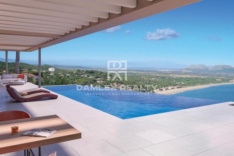 Complex of modern villas located in the most impressive area of the Costa Brava.