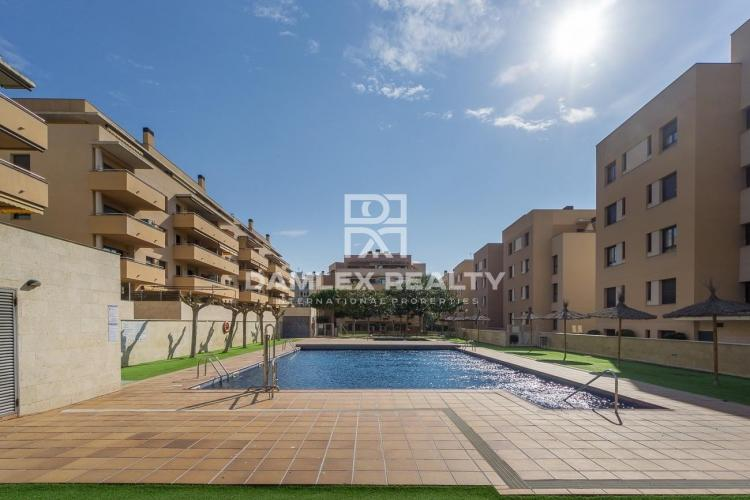 Apartment with private patio in Lloret de Mar