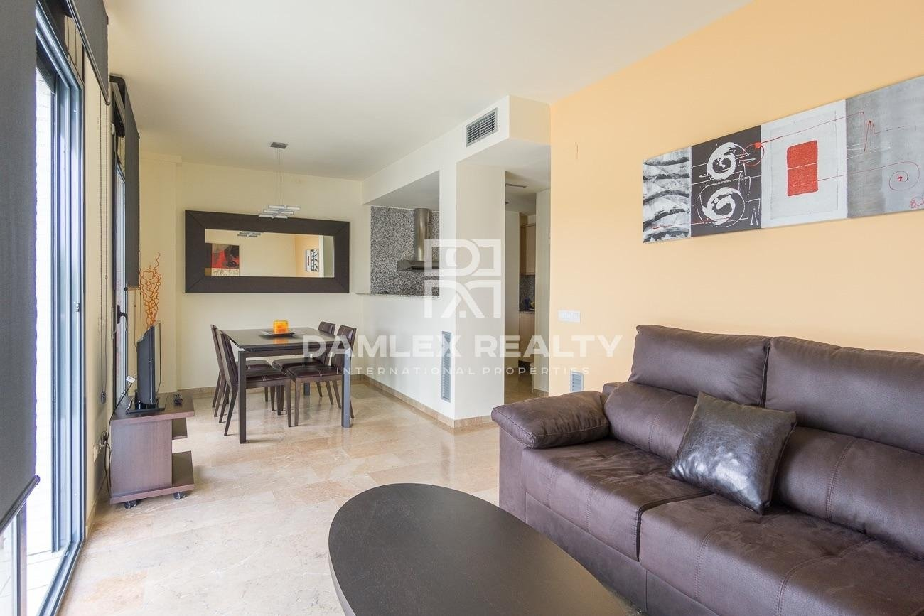 Beautiful apartments in a gated residential complex.
