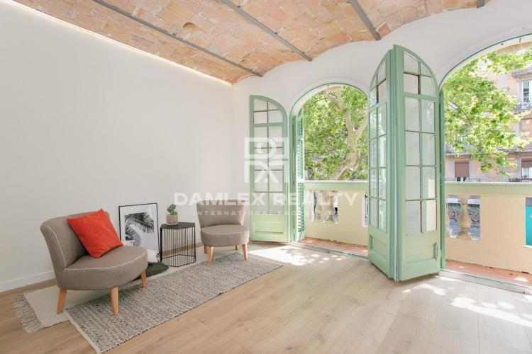 Repair apartment in the central district of Barcelona