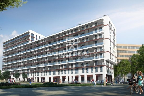 New residential building in Barcelona