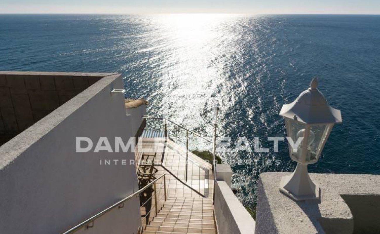 Exclusive first line beach villa in Costa Brava