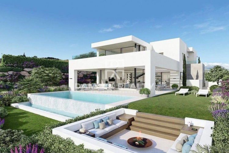 New project of modern villas with sea views