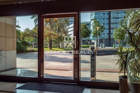 Apartment in Diagonal Mar with stunning views of the sea and the city.