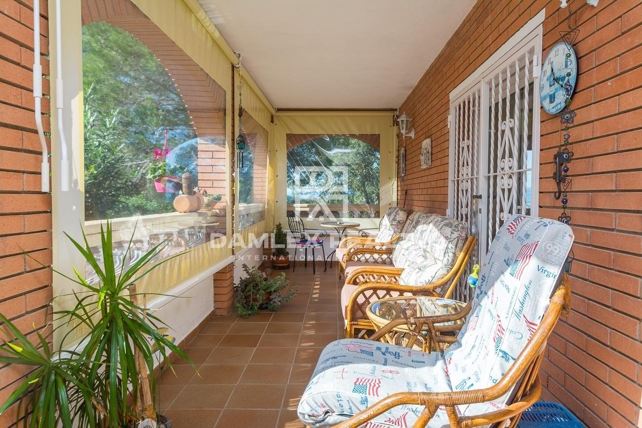 Beautiful house on the heights of Lloret de Mar