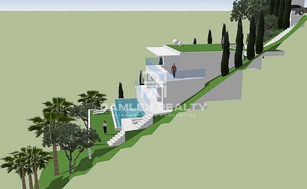 Plot of land with sea views urbanization Serra Brava