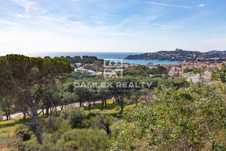 Exceptional plot overlooking the St Pol beach, S`Agaró