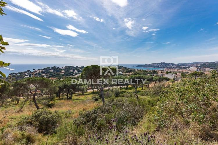 Land in the prestigious neighborhood of S`Agaró