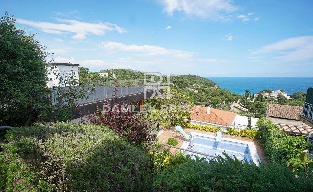 House with stunning sea views in Santa Cristina, Blanes